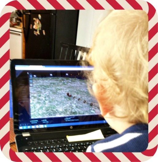 Zen tracking Santa on NORAD